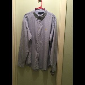 Ralph Lauren Custom Fit XXL Oxford shirt striped